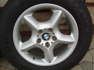 BMW X5 gyári 7,5×17-es 5×120-as ET40-es könnyüfém felni garnitura eladó